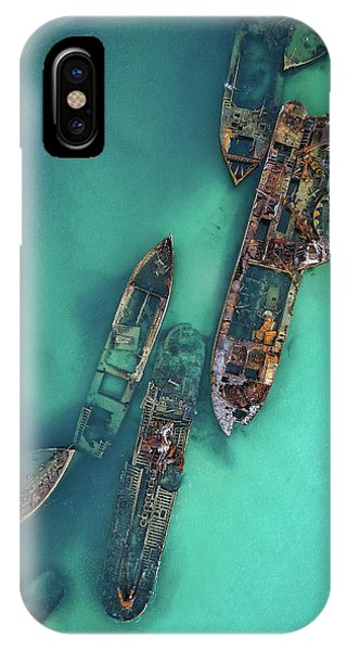 Tangalooma Wrecks IPhone Case
