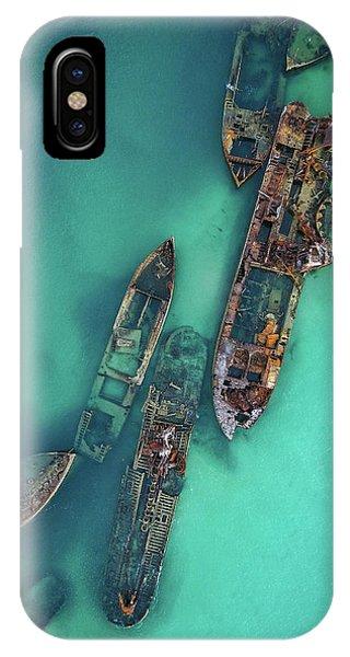 Tangalooma Wrecks IPhone Case