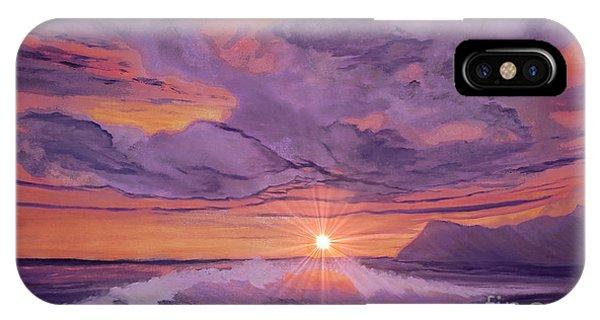 Tangerine Sky IPhone Case