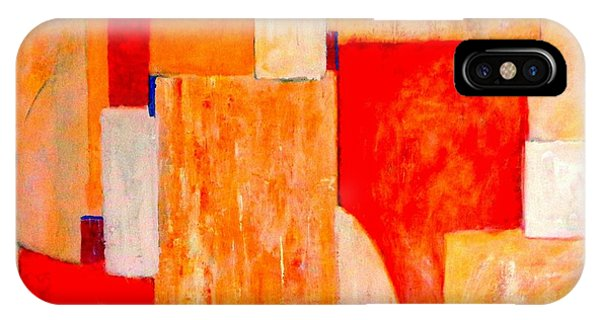 Tangerines Abstract IPhone Case