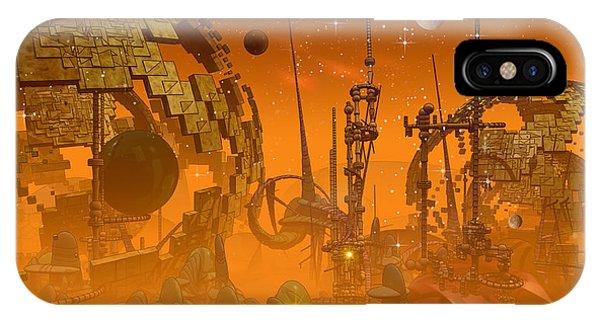 Harp iPhone Case - Tangerine...the Sequel by Phil Sadler