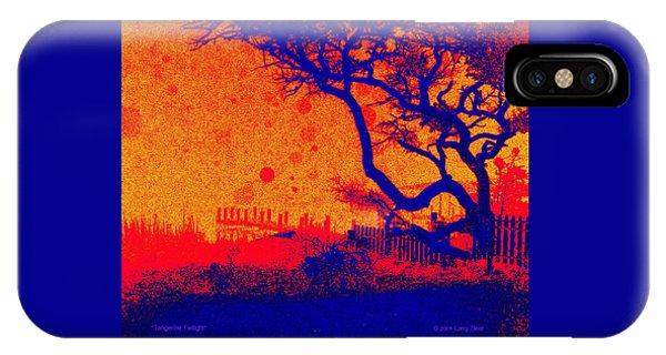 Tangerine Twilight IPhone Case