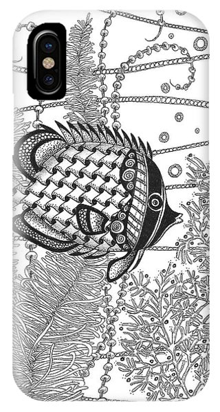 Tangle Fish II IPhone Case