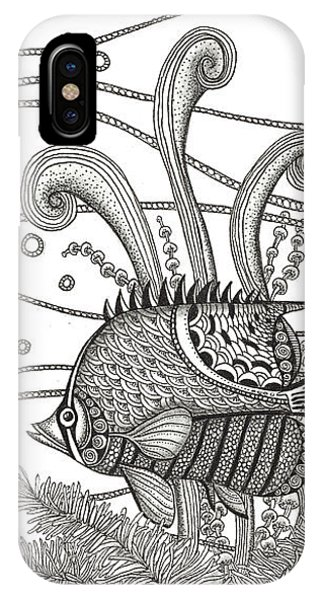 Tangle Fish IPhone Case