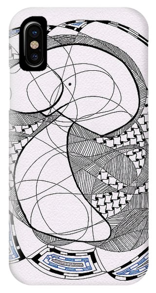 Tangle Monster Drawing IPhone Case