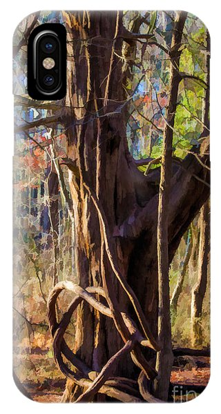 Tangled Vines On Tree IPhone Case