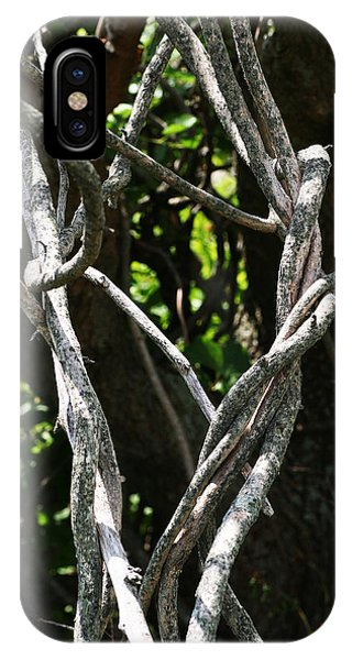 IPhone Case featuring the photograph Tangled by William Selander
