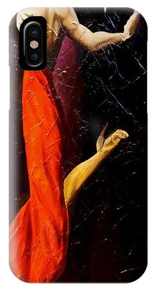 Tango Dancers #1 IPhone Case