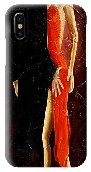 Tango Dancers #3 IPhone Case