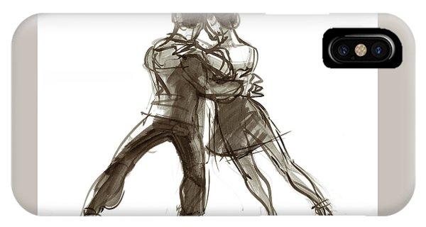 Tango Triangle IPhone Case