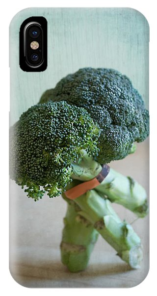 Broccoli iPhone Case - Tango Dip by Maggie Terlecki