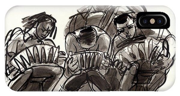 Tango Musicians IPhone Case