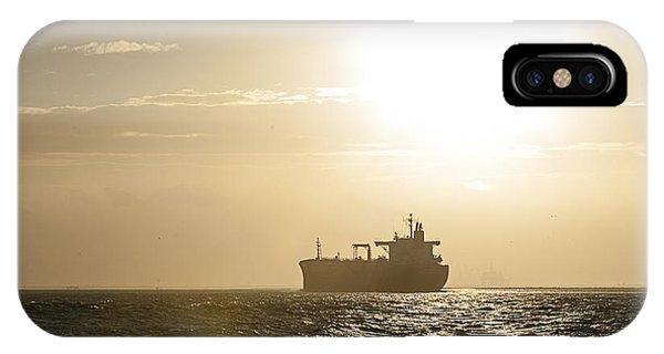 Tanker In Sun IPhone Case