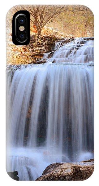 Tanyard Creek Waterfall Bella Vista Arkansas IPhone Case
