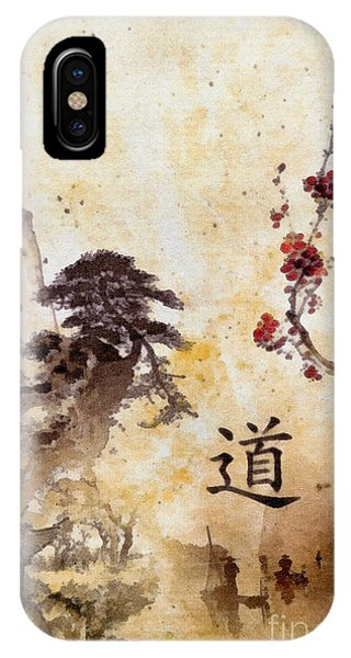 Mo iPhone Case - Tao Te Ching by Mo T
