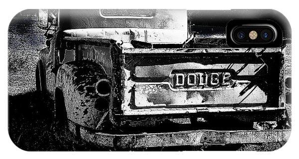 Taos Dodge B-w IPhone Case