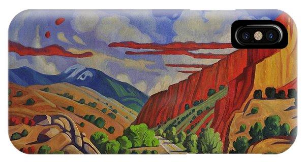 Taos Gorge Journey IPhone Case