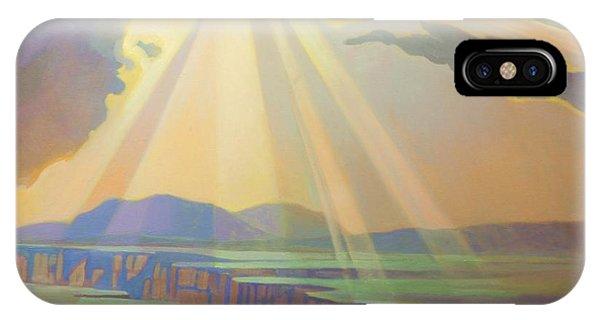 Taos Gorge Light IPhone Case