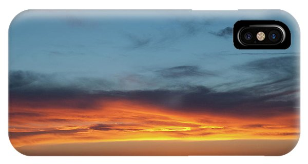 IPhone Case featuring the photograph Taos Mesa Sunset by Jason Coward
