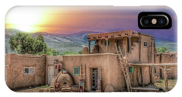 Taos Pueblo IPhone Case