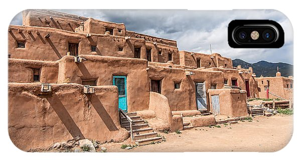 Taos Pueblo New Mexico IPhone Case