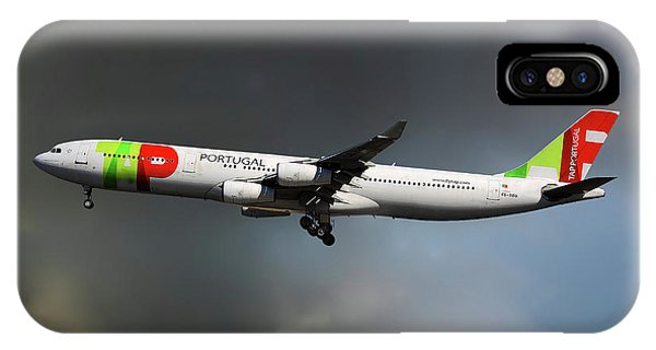 Portugal iPhone Case - Tap Portugal by Smart Aviation