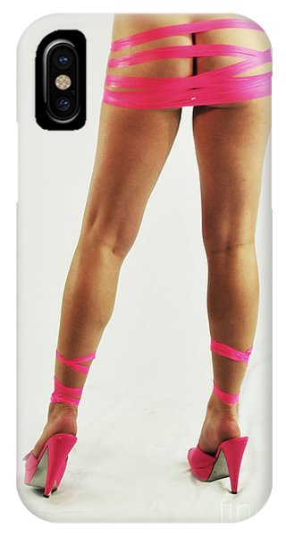 Tape And Heels IPhone Case
