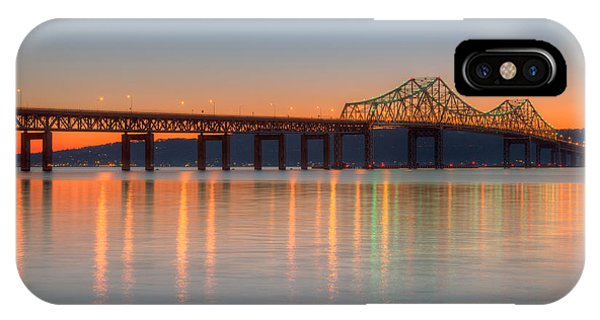 Tappan Zee Bridge After Sunset II IPhone Case