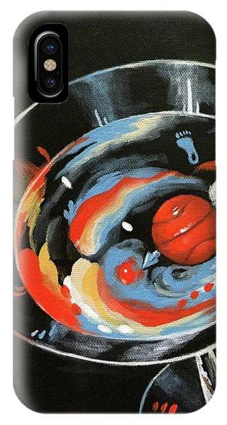 iPhone Case - Tar Heel Martini IIi   by Torrie Smiley