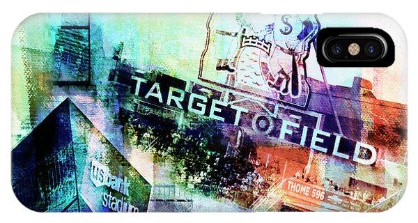 Target Field Us Bank Staduim  IPhone Case