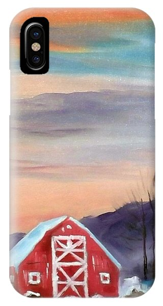 Target Range Barn IPhone Case