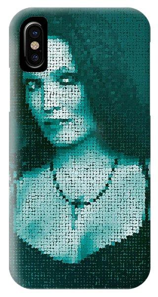 IPhone Case featuring the digital art Tarja 12 by Marko Sabotin