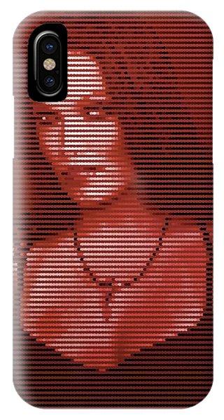 IPhone Case featuring the digital art Tarja 20 by Marko Sabotin