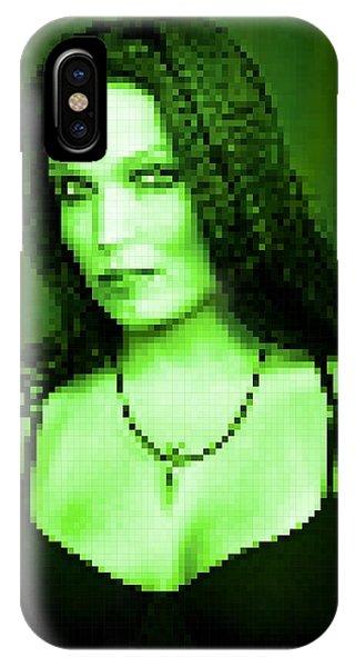 IPhone Case featuring the digital art Tarja 3 by Marko Sabotin