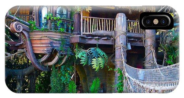 Tarzan Treehouse IPhone Case