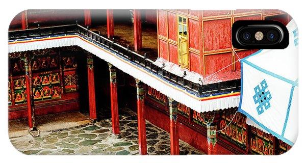 Kora iPhone Case - Tashilhunpo Monastery Shigatse Tibet Artmif.lv by Raimond Klavins