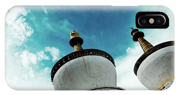 Kora iPhone Case - Tashilhunpo Monastery Shigatse Tibet Yantra.lv  by Raimond Klavins