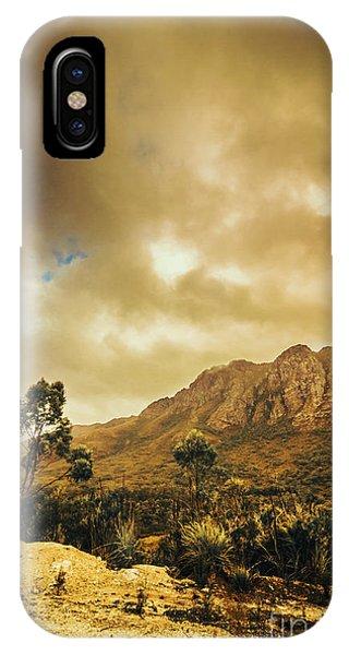 Mountainous iPhone Case - Tasmania Mountain Marvels by Jorgo Photography - Wall Art Gallery