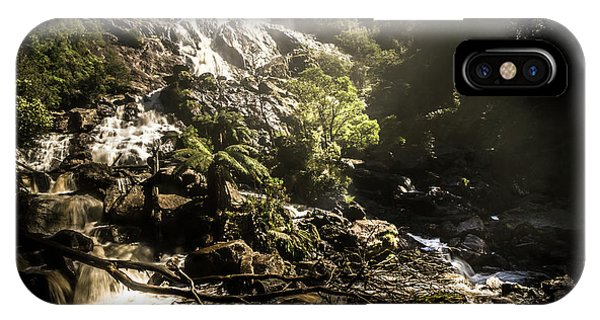 Stone Wall iPhone Case - Tasmania Wild by Jorgo Photography - Wall Art Gallery