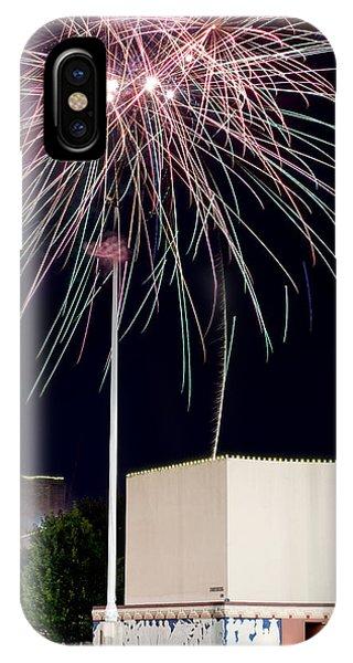 Taste Of Dallas 2015 Fireworks IPhone Case