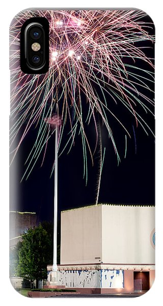 Taste Of Dallas 2015 Fireworks IPhone Case