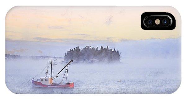 Fishing Boat iPhone Case - Taste Of Dawn by Evelina Kremsdorf