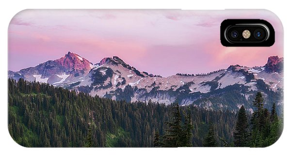 IPhone Case featuring the photograph Tatoosh Sunset by Sharon Seaward