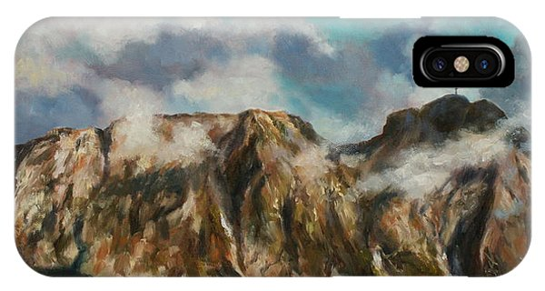 Tatry Mountains- Giewont IPhone Case