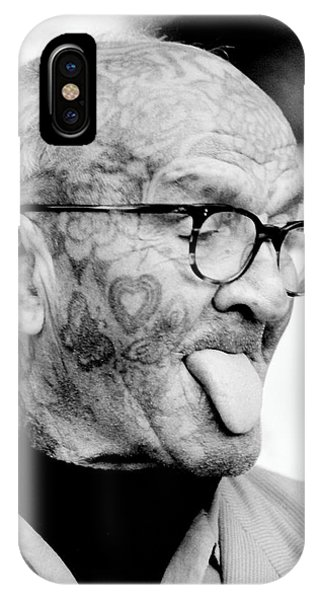 Tattoo Man IPhone Case