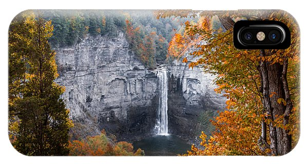 Taughannock Autumn IPhone Case