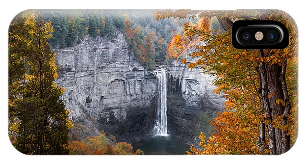 IPhone Case featuring the photograph Taughannock Autumn by William Norton