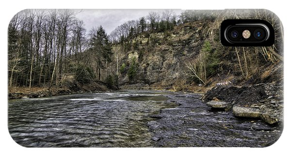 Taughannock Creek IPhone Case
