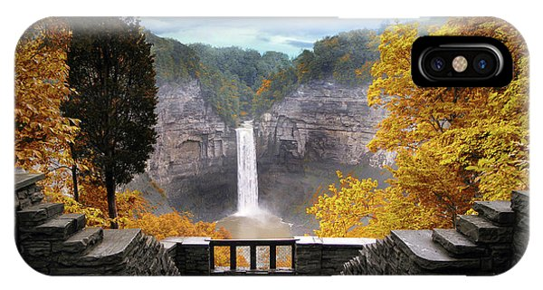 Taughannock In Autumn IPhone Case