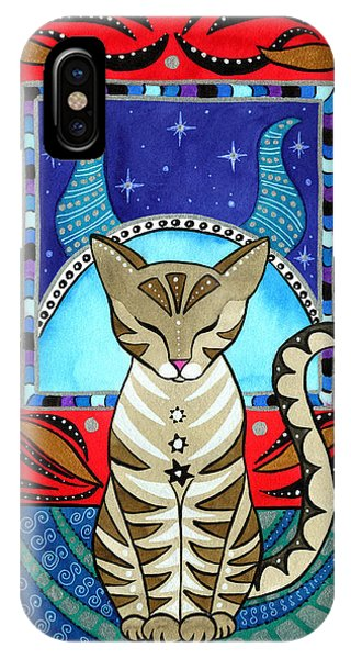 Taurus Cat Zodiac IPhone Case